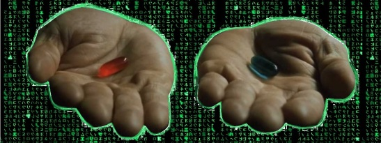 Red Pill Blue Pill -- The Matrix