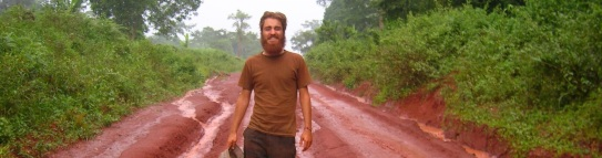 Road from Mbang, Cameroon