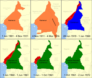Cameroon's Changing Borders