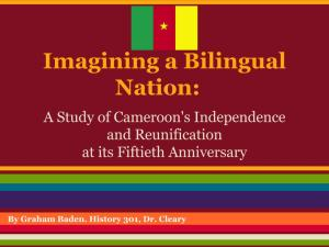 Imagining a Bilingual Nation