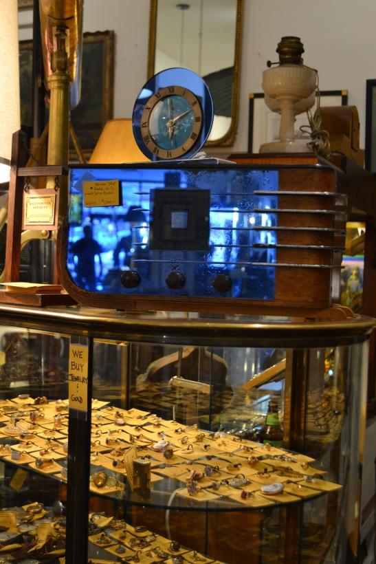 Sparton Radio Telechron Clock