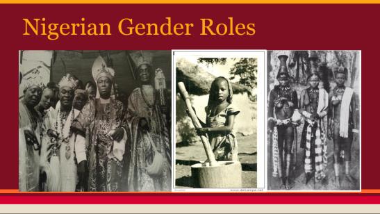 nigerian genders plate